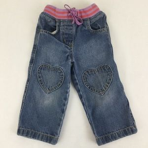 Baby Boden Heart Jeans